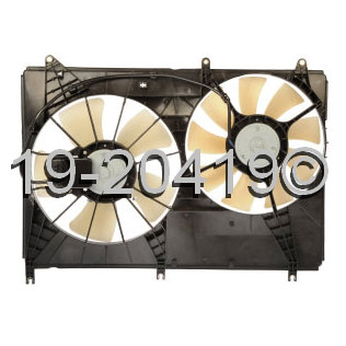 Mitsubishi Endeavor                       Cooling Fan AssemblyCooling Fan Assembly
