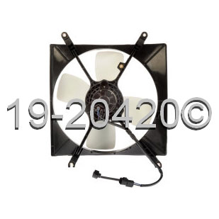 Mitsubishi Galant                         Cooling Fan AssemblyCooling Fan Assembly