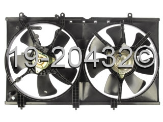 Mitsubishi Lancer                         Cooling Fan AssemblyCooling Fan Assembly