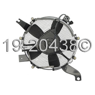 Mitsubishi Montero                        Cooling Fan AssemblyCooling Fan Assembly