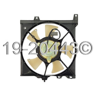 Nissan NX Coupe                       Cooling Fan AssemblyCooling Fan Assembly