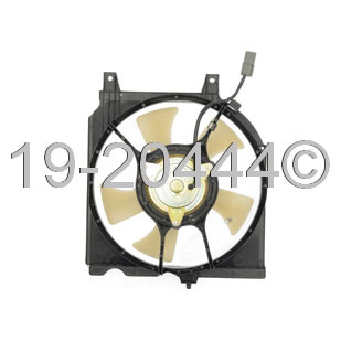 Nissan 200SX                          Cooling Fan AssemblyCooling Fan Assembly