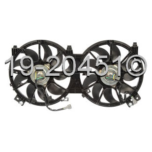 Nissan Altima                         Cooling Fan AssemblyCooling Fan Assembly