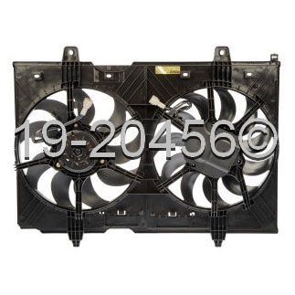 Nissan Rogue                          Cooling Fan AssemblyCooling Fan Assembly