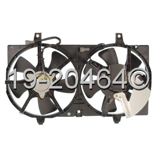Nissan Sentra                         Cooling Fan AssemblyCooling Fan Assembly