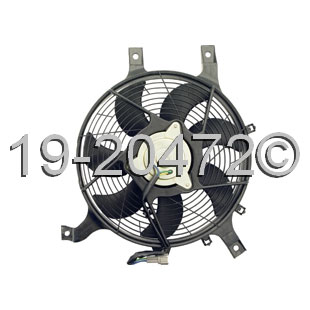 Nissan Frontier                       Cooling Fan AssemblyCooling Fan Assembly
