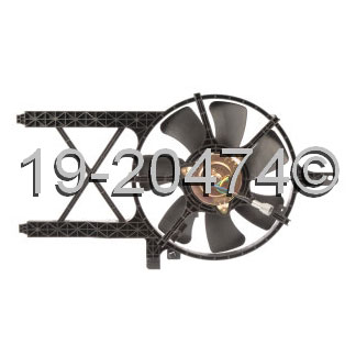 Nissan Xterra                         Cooling Fan AssemblyCooling Fan Assembly