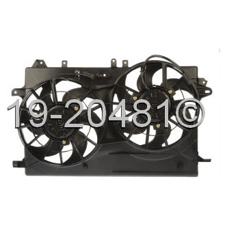 Saab 9-5                            Cooling Fan AssemblyCooling Fan Assembly