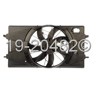 Saturn Ion                            Cooling Fan AssemblyCooling Fan Assembly