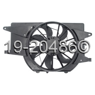 Saturn Vue                            Cooling Fan AssemblyCooling Fan Assembly