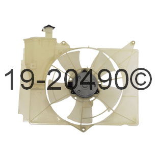 Toyota Echo                           Cooling Fan AssemblyCooling Fan Assembly