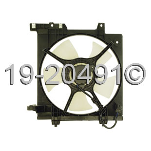 Subaru Baja                           Cooling Fan AssemblyCooling Fan Assembly