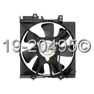 Subaru Impreza                        Cooling Fan AssemblyCooling Fan Assembly