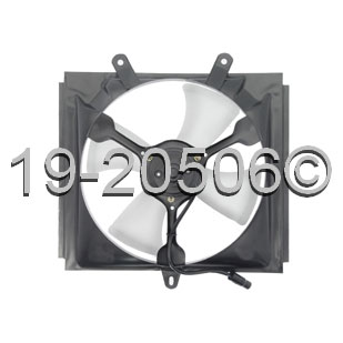 Subaru Justy                          Cooling Fan AssemblyCooling Fan Assembly