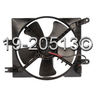 Suzuki Forenza                        Cooling Fan AssemblyCooling Fan Assembly