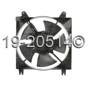Suzuki Reno                           Cooling Fan Assembly