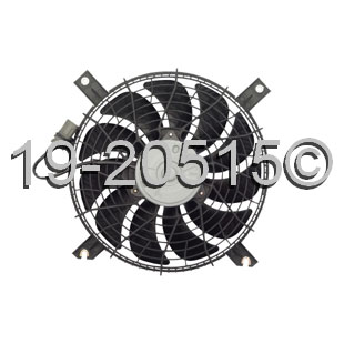 Suzuki Vitara                         Cooling Fan AssemblyCooling Fan Assembly