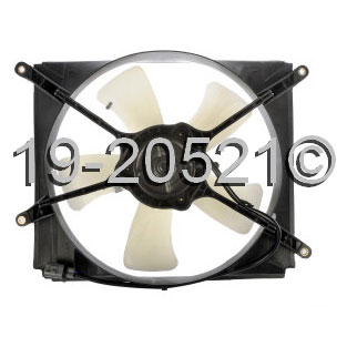 Toyota Avalon                         Cooling Fan AssemblyCooling Fan Assembly