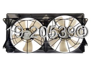 Toyota Celica                         Cooling Fan AssemblyCooling Fan Assembly