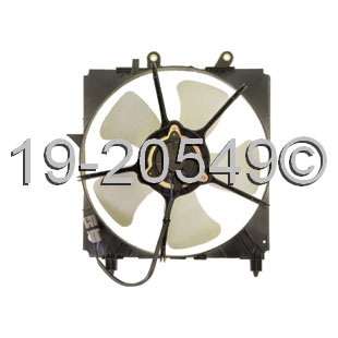 Toyota Tercel                         Cooling Fan AssemblyCooling Fan Assembly