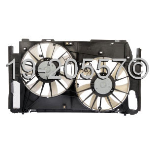 Toyota RAV4                           Cooling Fan AssemblyCooling Fan Assembly