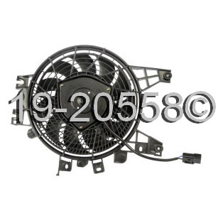 Toyota Sequoia                        Cooling Fan AssemblyCooling Fan Assembly