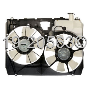 Toyota Sienna                         Cooling Fan AssemblyCooling Fan Assembly