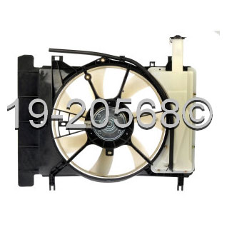 Toyota Yaris                          Cooling Fan AssemblyCooling Fan Assembly