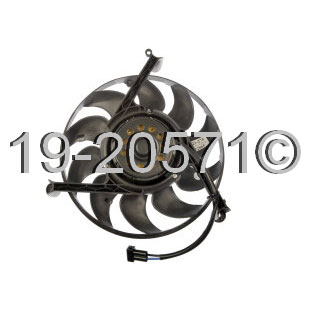 Volkswagen Eurovan                        Cooling Fan AssemblyCooling Fan Assembly