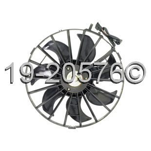 Volvo 240                            Cooling Fan AssemblyCooling Fan Assembly