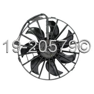 Volvo 940                            Cooling Fan AssemblyCooling Fan Assembly