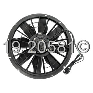 Volvo S90                            Cooling Fan Assembly