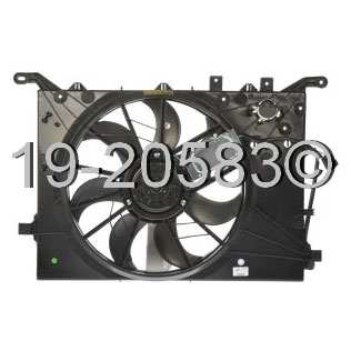 Volvo XC70                           Cooling Fan Assembly