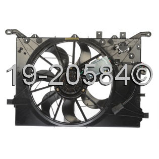 Volvo S80                            Cooling Fan Assembly