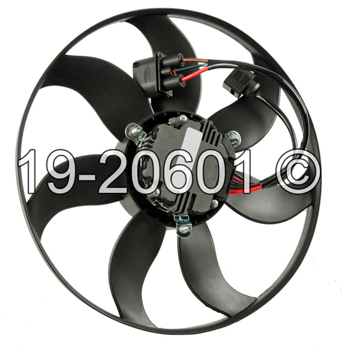Volkswagen Tiguan                         Cooling Fan AssemblyCooling Fan Assembly