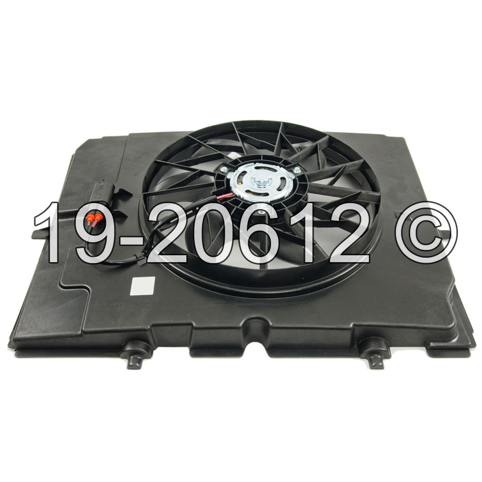 Mercedes_Benz C230                           Cooling Fan AssemblyCooling Fan Assembly