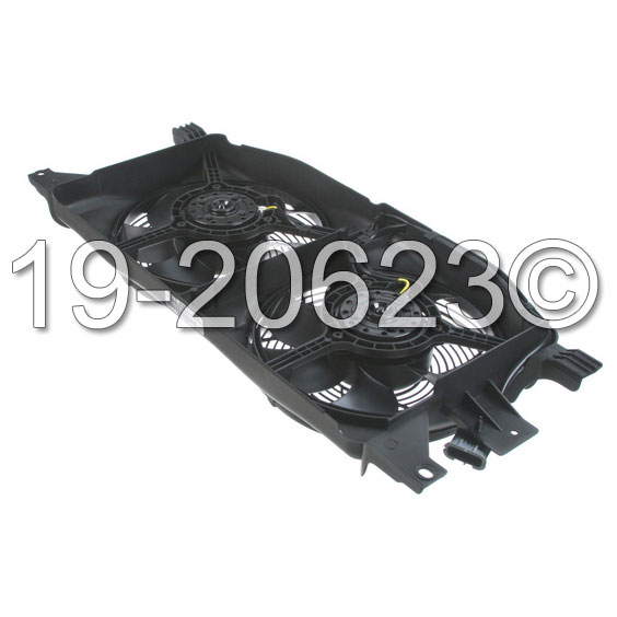 Mercedes_Benz ML430                          Cooling Fan AssemblyCooling Fan Assembly