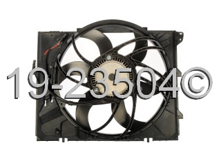 BMW 328xi                          Cooling Fan AssemblyCooling Fan Assembly