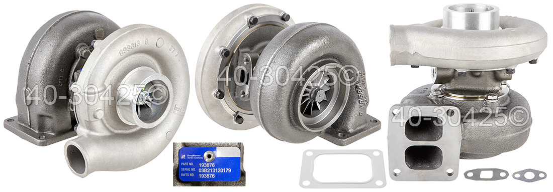 2008 International All Models Navistar DT466 Engine With BorgWarner Turbocharger Number 193876 Turbocharger