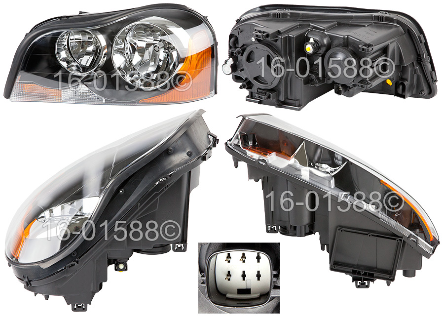 Volvo XC90                           Headlight Assembly