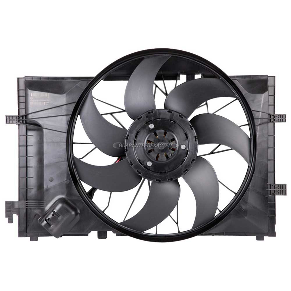 Mercedes_Benz C350                           Cooling Fan AssemblyCooling Fan Assembly