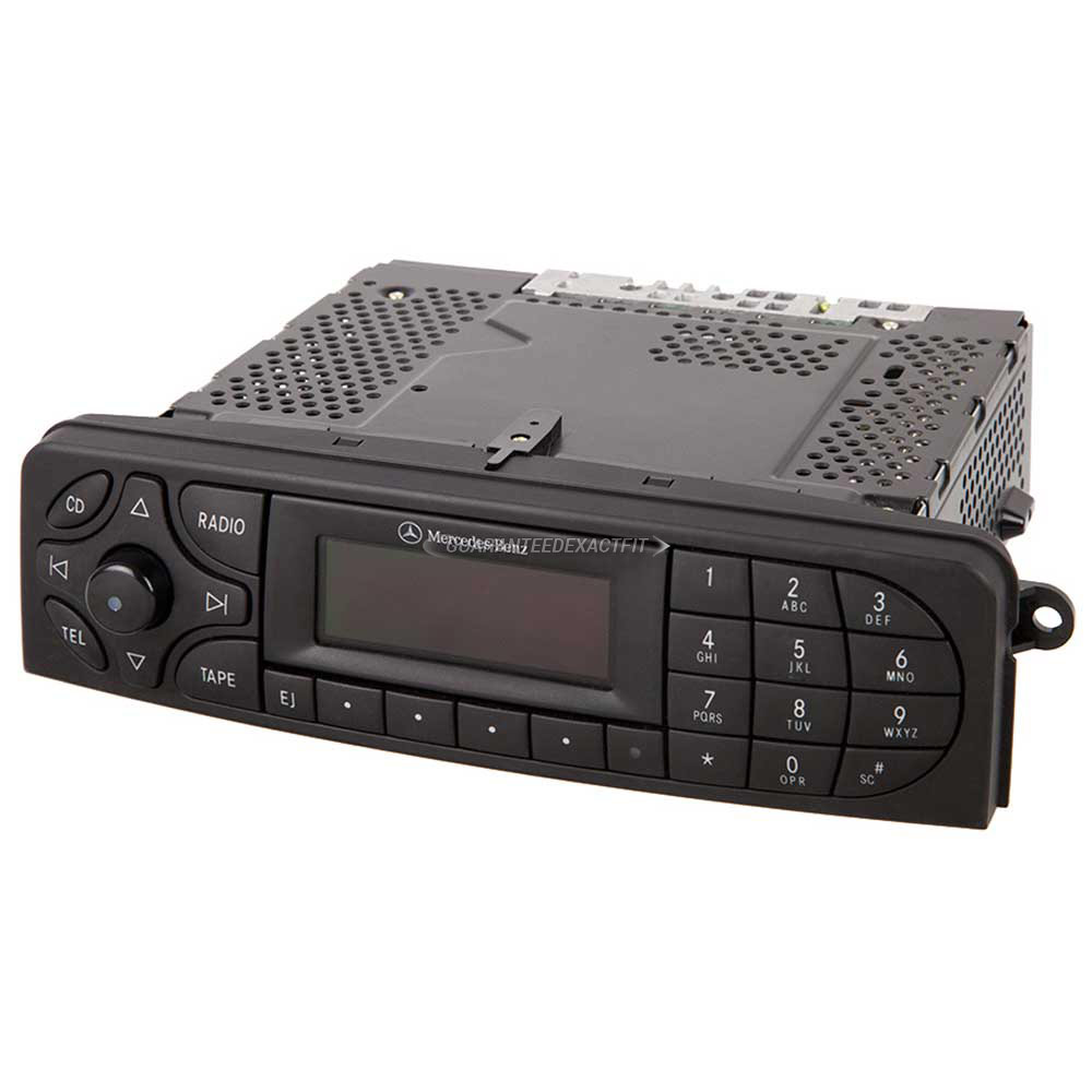 Mercedes_Benz C240                           Radio or CD PlayerRadio or CD Player