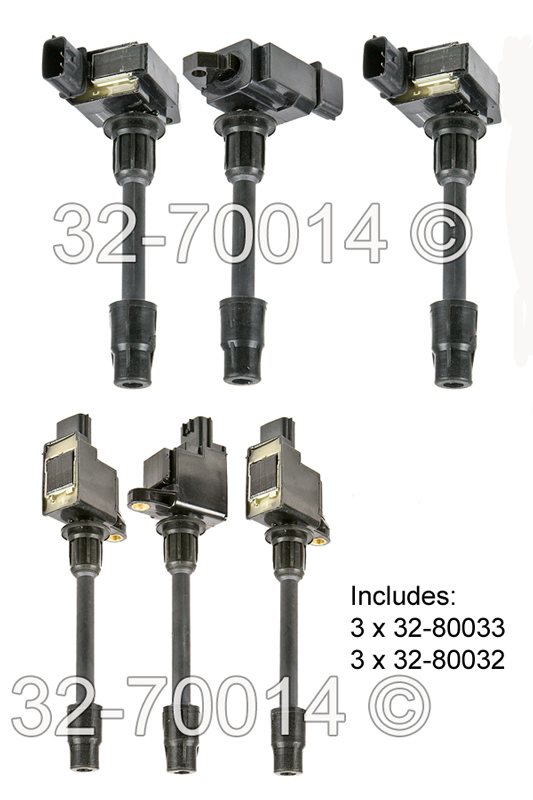 Infiniti I30                            Ignition Coil SetIgnition Coil Set