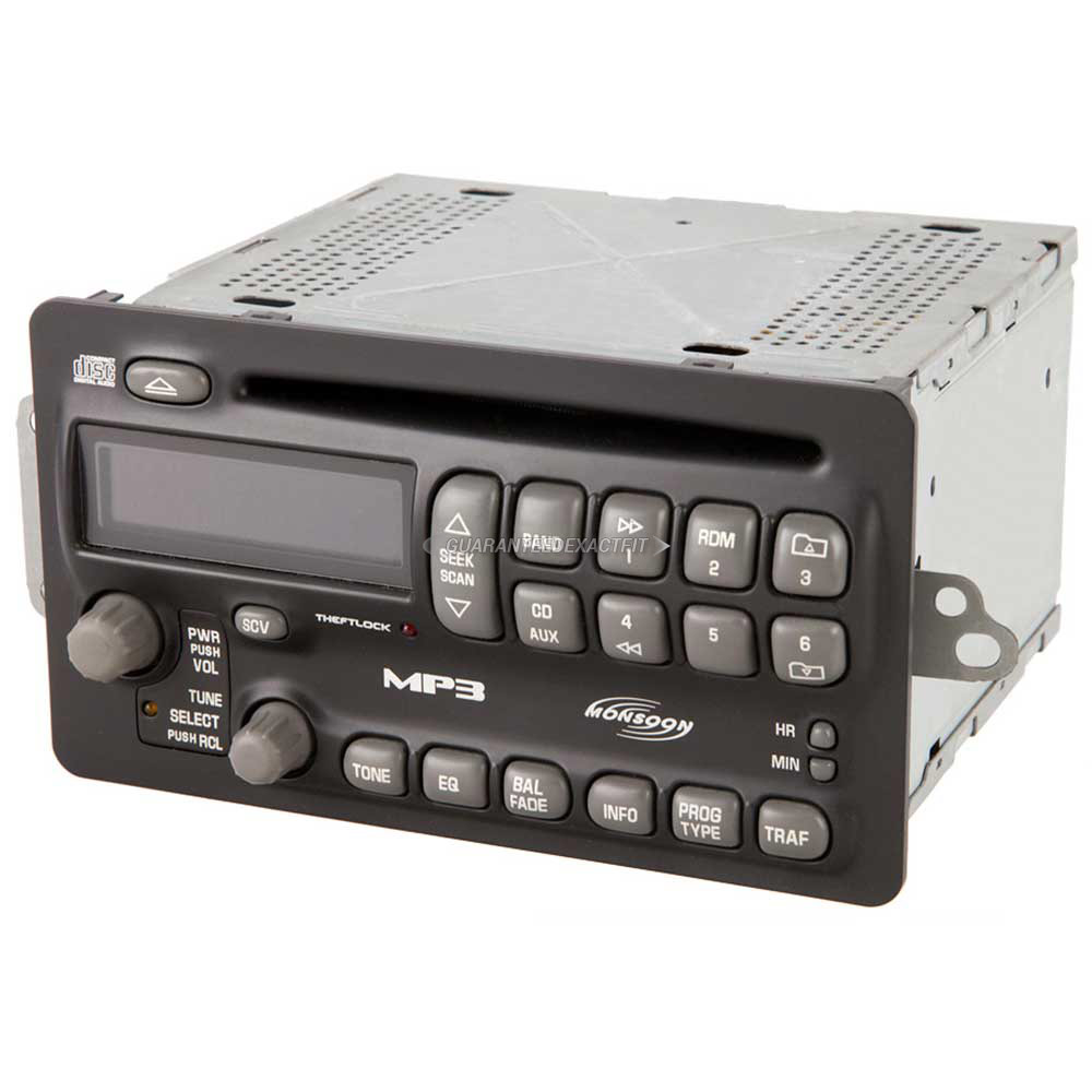 Pontiac Grand AM                       Radio or CD PlayerRadio or CD Player