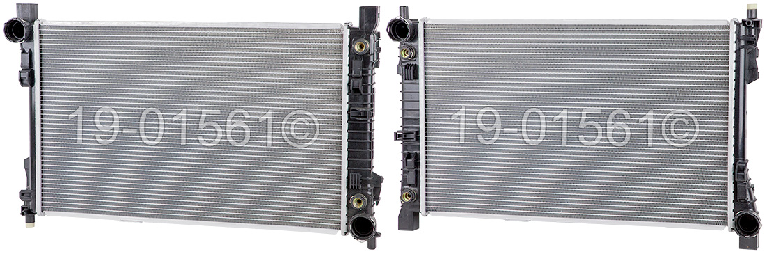 Mercedes_Benz C350                           Radiator