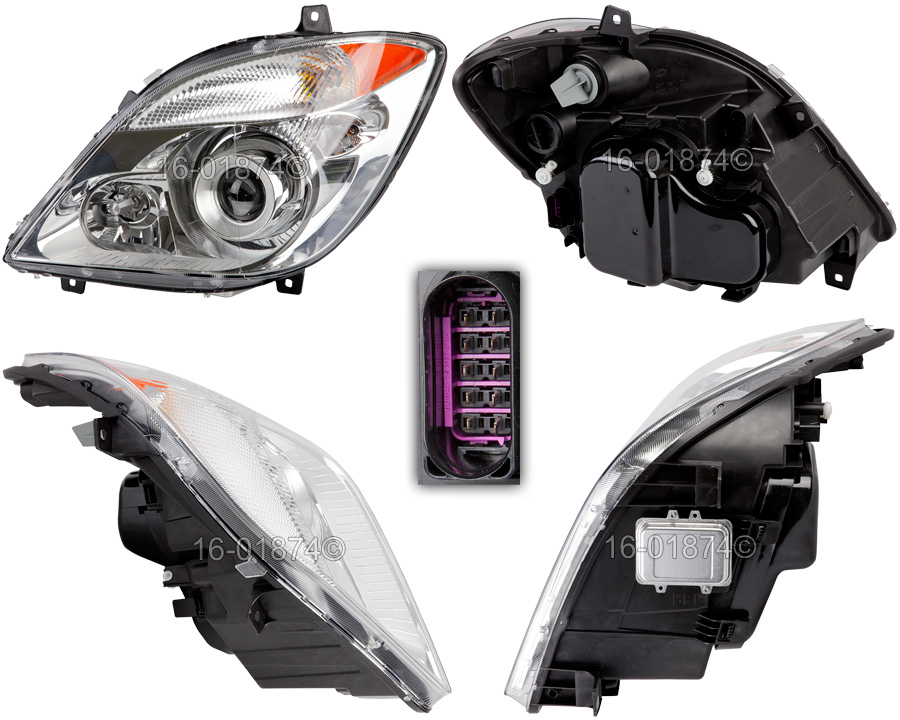 Dodge Sprinter Van                   Headlight Assembly