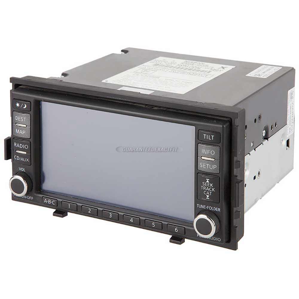 Nissan Altima                         Navigation UnitNavigation Unit