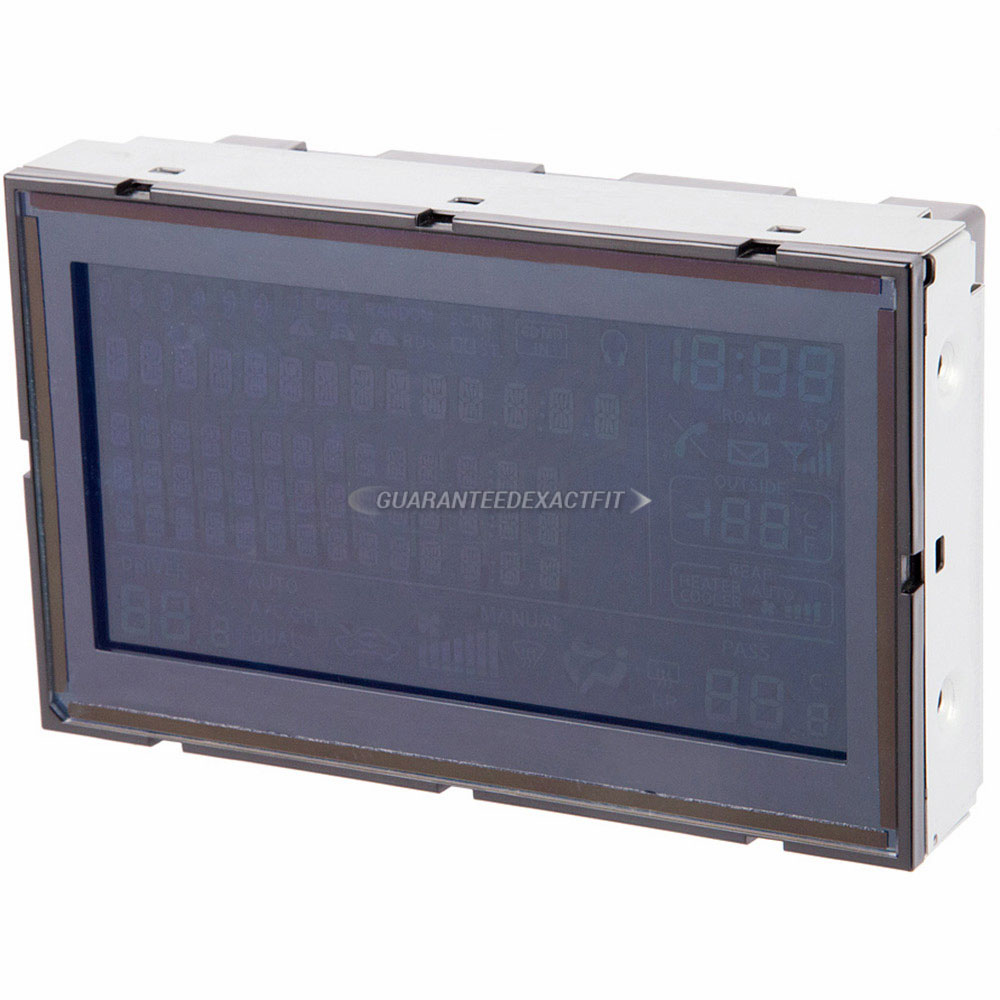 Infiniti FX50                           Center Module Screen