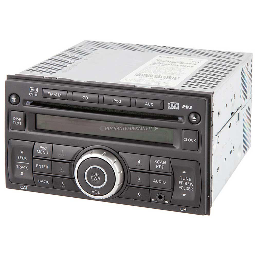 Nissan Versa                          Radio or CD PlayerRadio or CD Player