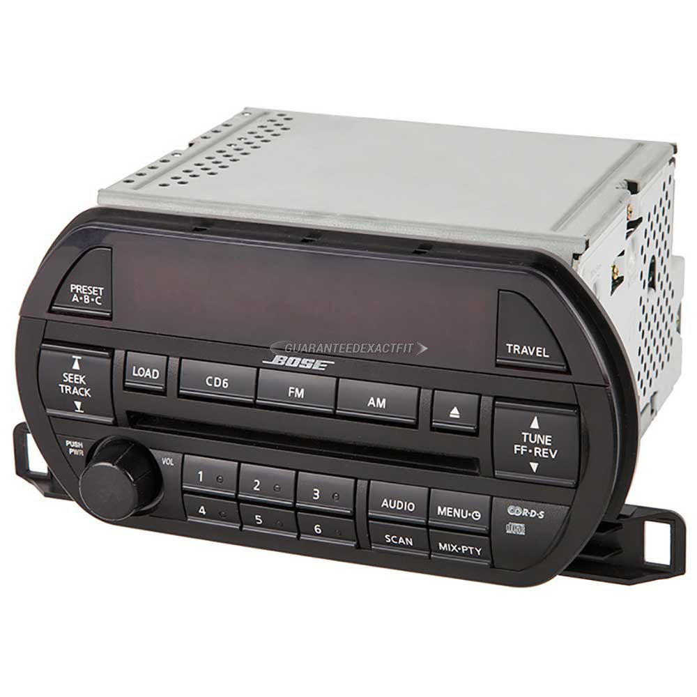 Nissan Altima                         Radio or CD PlayerRadio or CD Player